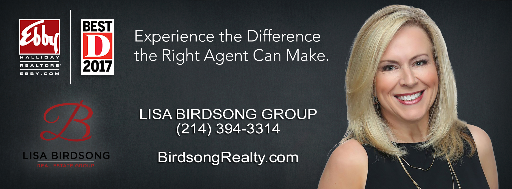 Lisa Birdsong Best Realtor <a href='http://www.birdsongrealty.com/index.php?types[]=1&types[]=2&areas[]=city:Dallas&beds=0&baths=0&min=0&max=100000000&map=0&quick=1&submit=Search' title='Search Properties in Dallas'>Dallas</a>