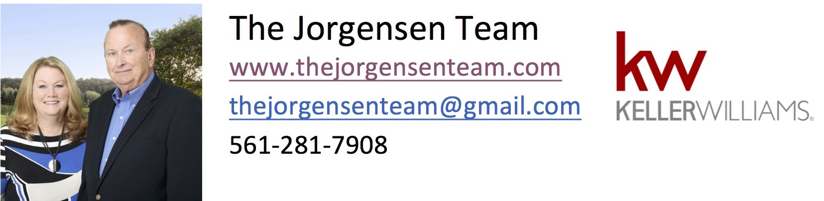 The Jorgensen Team Logo