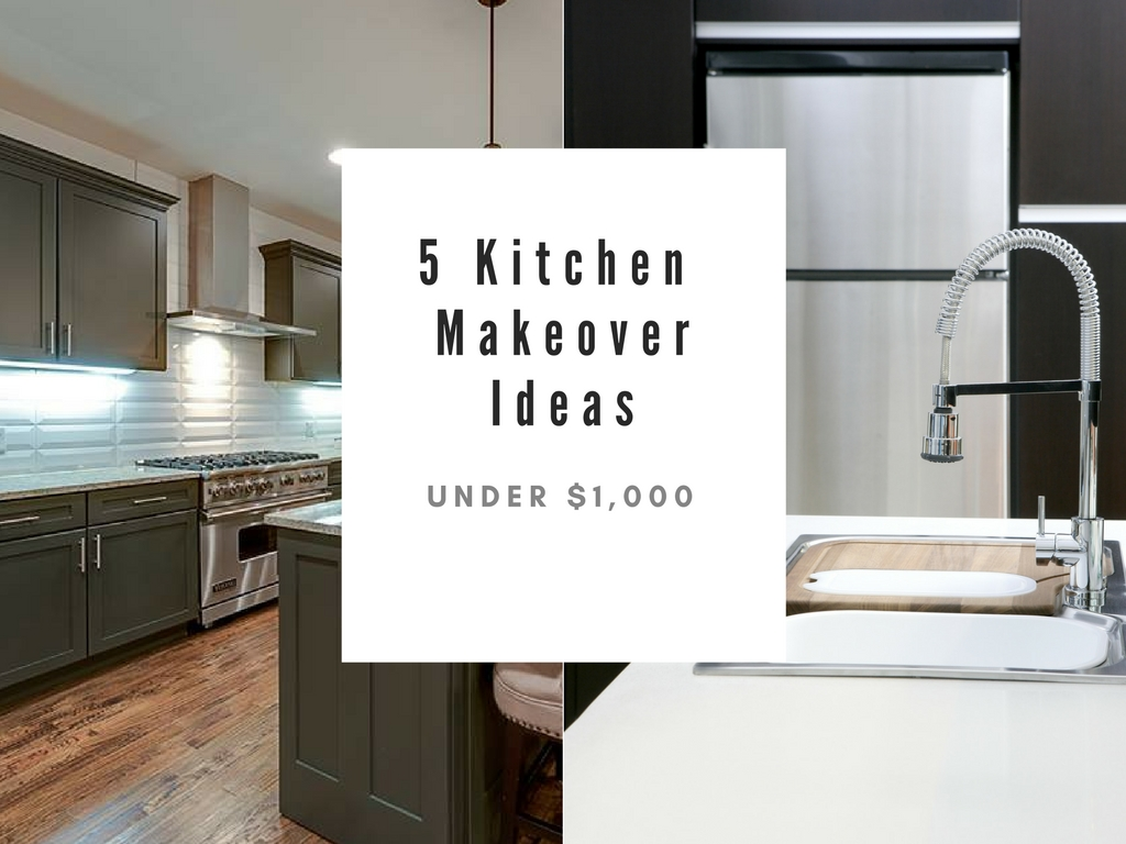 5 Kitchen Makeover Ideas - Veronica Lind