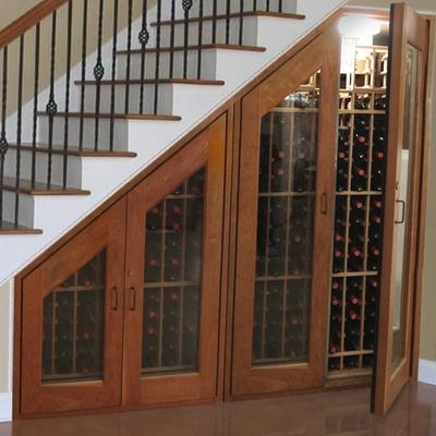 Staircase Storage For Small Spaces!
