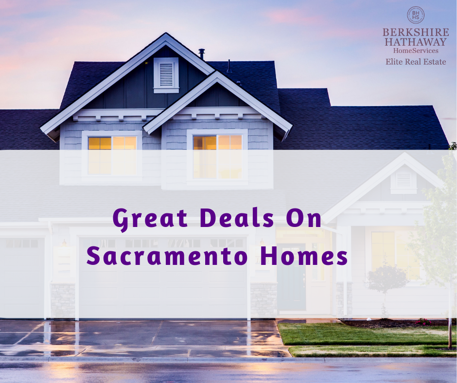 Great Deals On Sacramento Homes