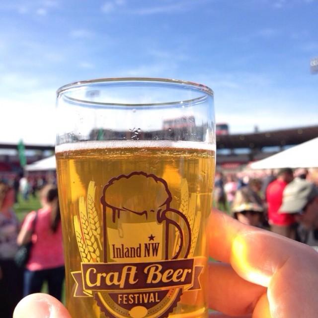 Glass of Inland Northwest Craft Beer