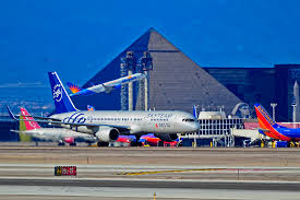 You can see the Luxor from McCarran International Airport, says Beth Ellyn Rosenthal, eXp Realty