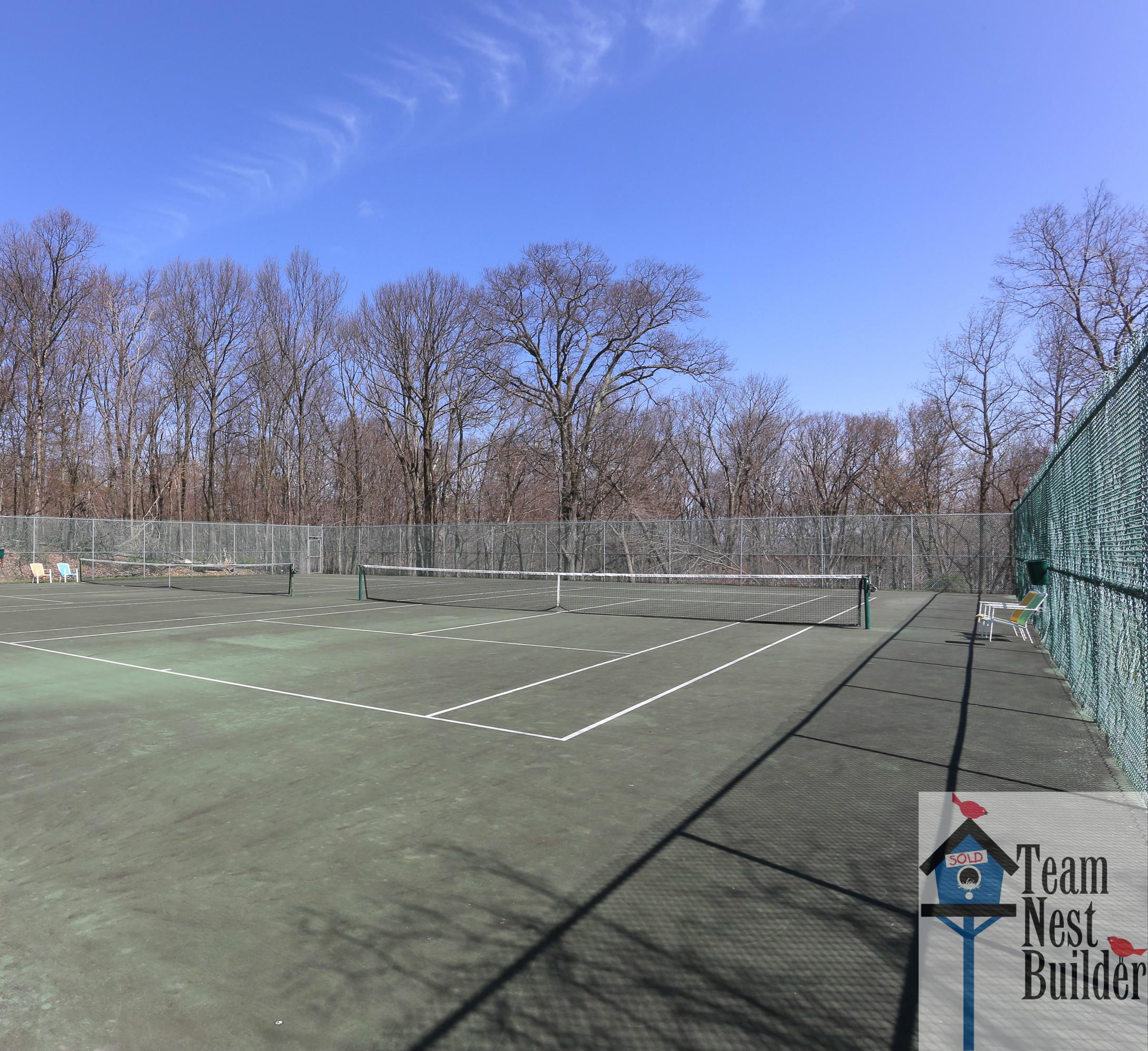 Tennis Courts 12 Greentree Village Sparta