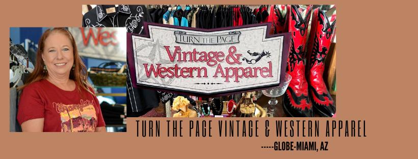 Turn the page vintage & western apparel