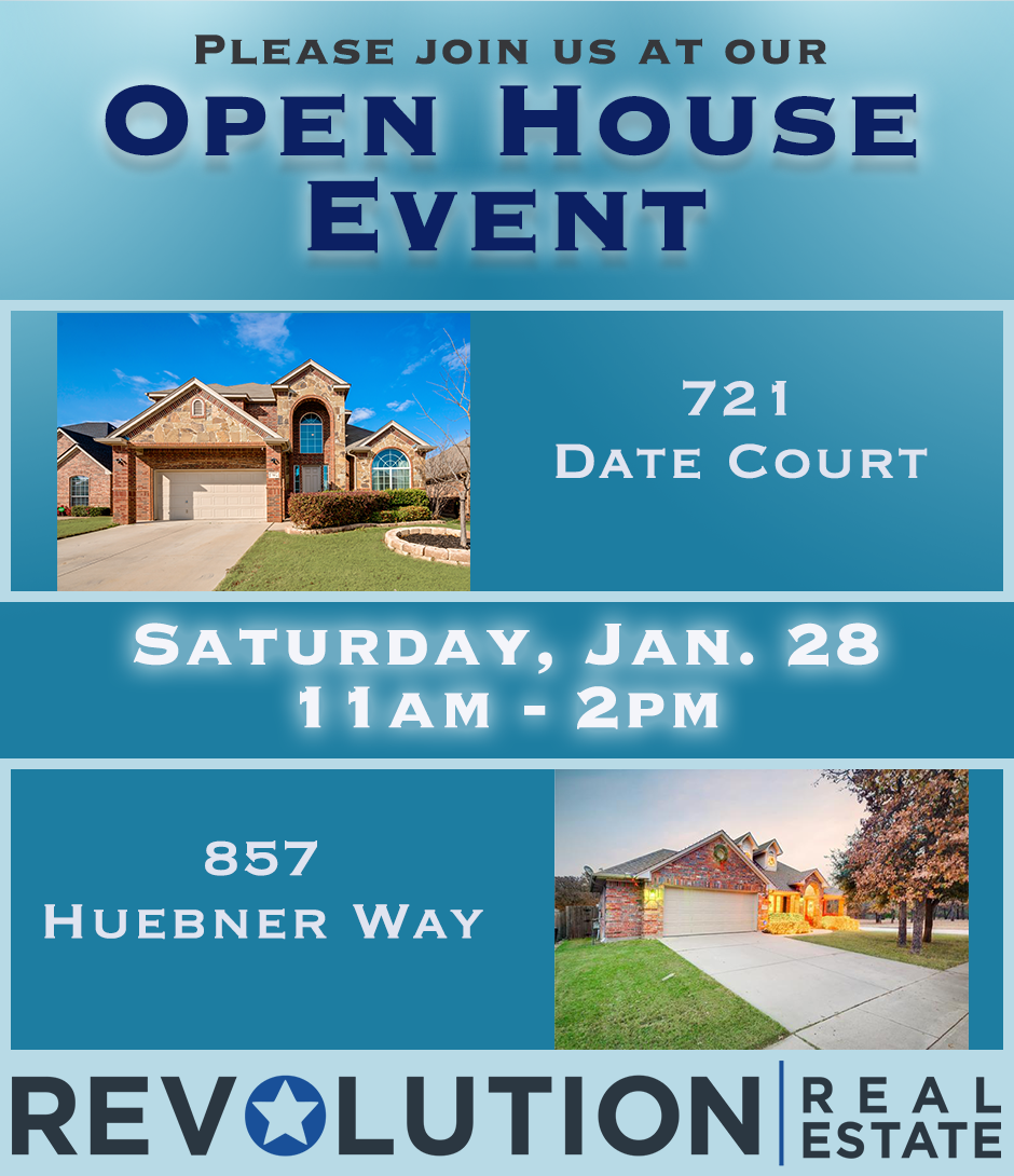 Open Houses in <a href='https://www.jameslike.com/index.php?types[]=1&types[]=2&areas[]=city:Burleson&beds=0&baths=0&min=0&max=100000000&map=0&quick=1&submit=Search' title='Search Properties in Burleson'>Burleson</a> on Saturday