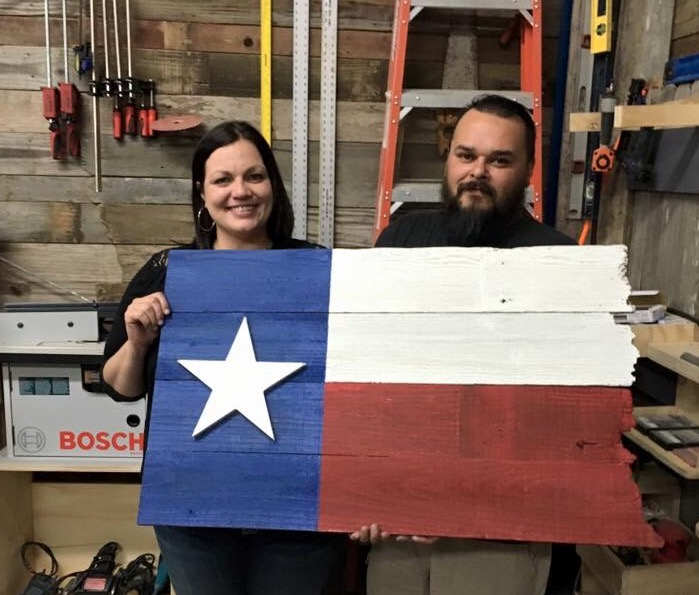 We made our first TX flag.