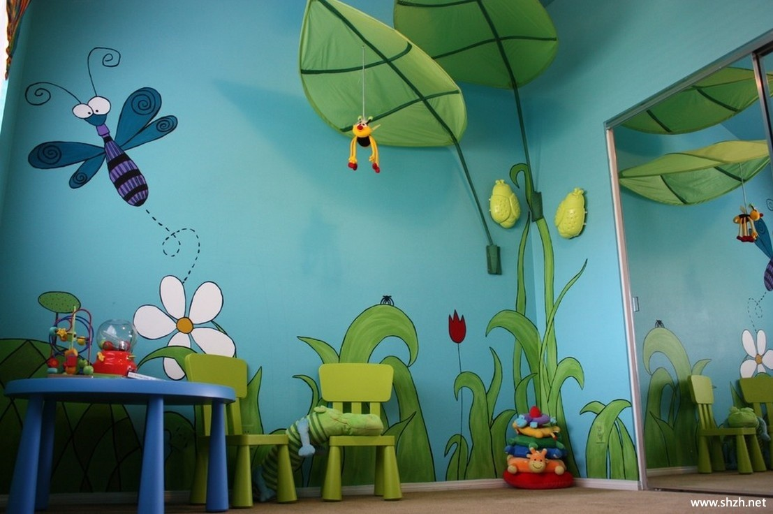 Jungle Bugs 3D Wall Mural - Lisa Birdsong