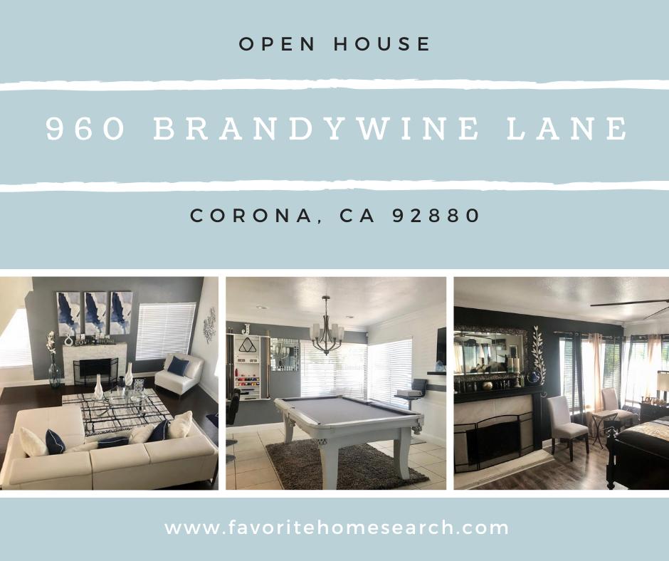 960 Brandywine Corona  CA 92880