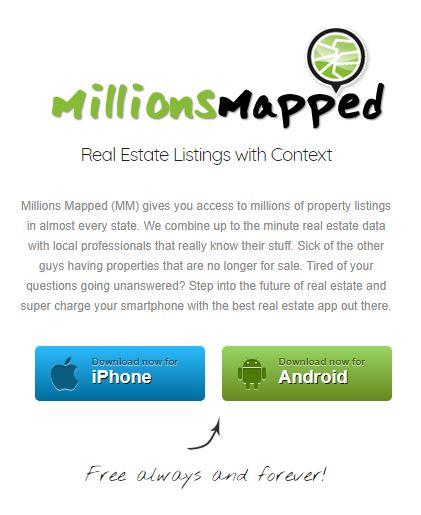 Lafayette home search app