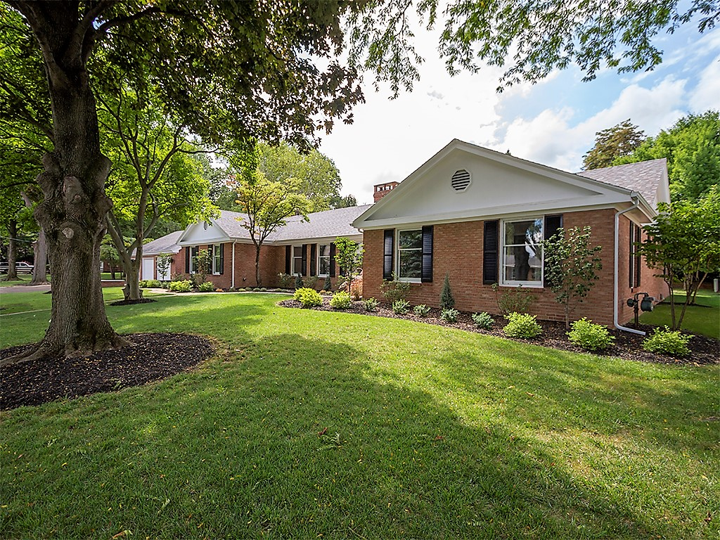Just Listed Sprawling All Brick Perkins Ranch Home With