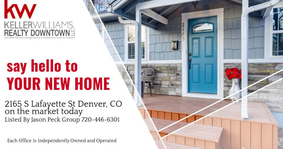 2165 S Lafayette St Denver CO 80210 Listed by Jason Peck