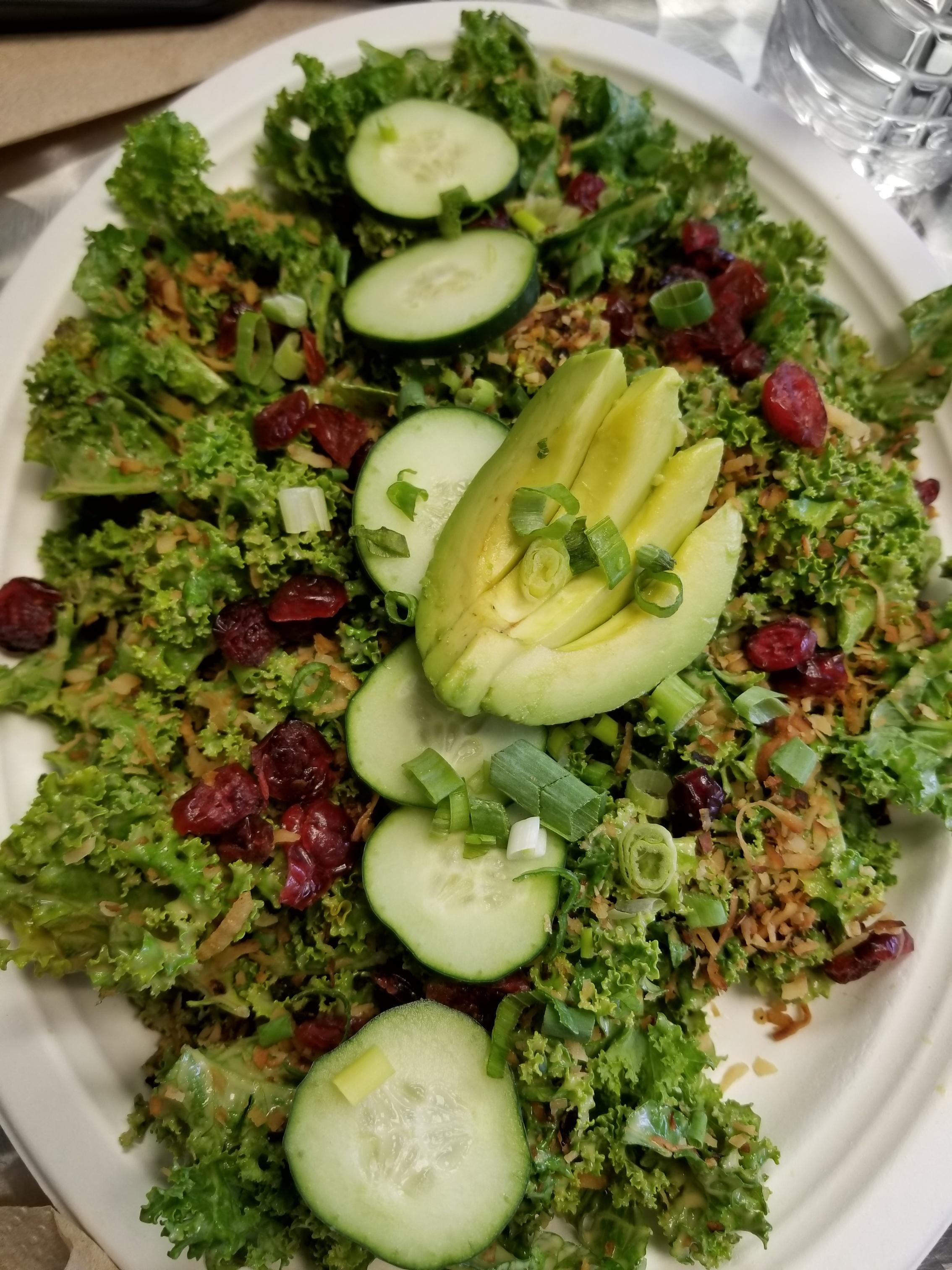 Amazing Kale Salad.