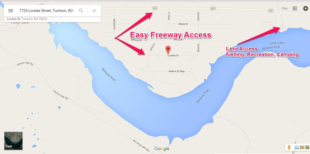 7725 Loralee St Way Ford WA Lifestyle Map