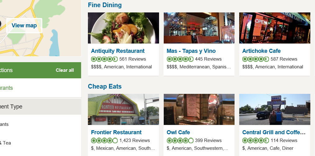 Albuquerque Top Rated Restaurants