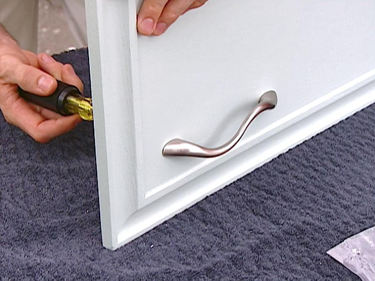 replace cabinet handles