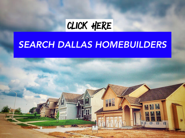Dallas Home Builders
