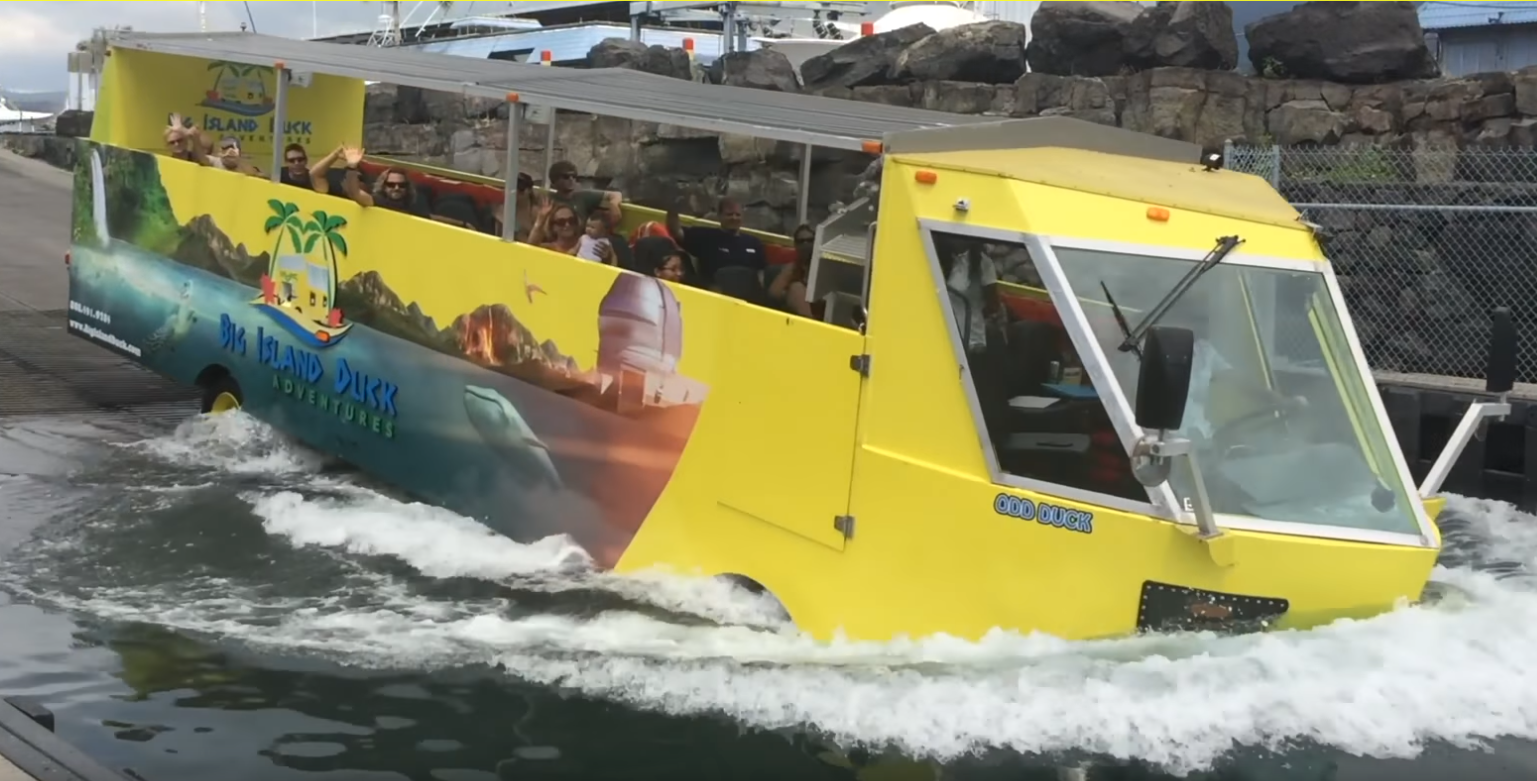 Ive Seen These Duck Boat Tours In Other Cities Around The World But Have Never Been On One Now We Have One In Kailua Kona Looks Like A Fun Time