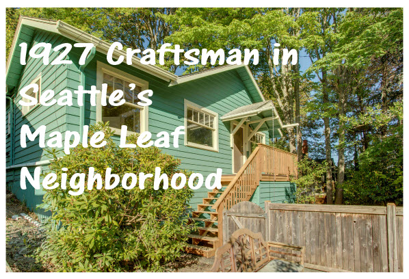 Homes for sale in Seattle's Maple Leaf neighborhood