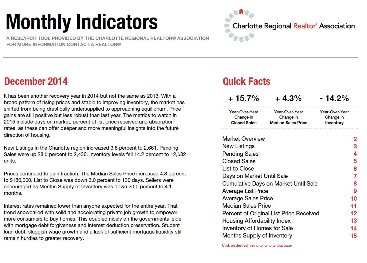 Dec 2014 Stats