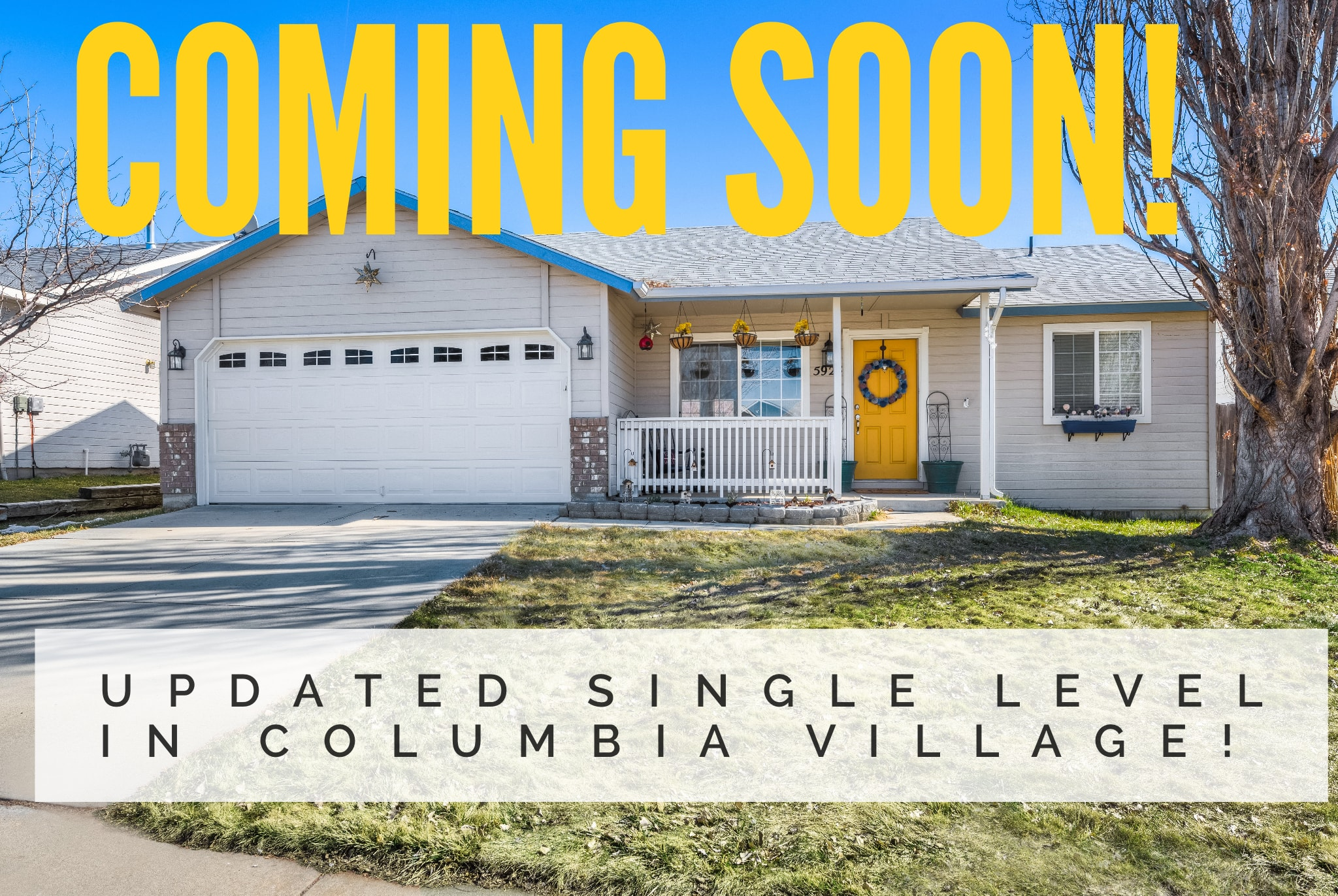 Updated Single Level in Great Location in Boise