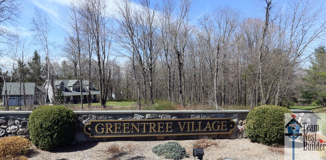 Entrance to 12 Gristmill Greentree Village Sparta