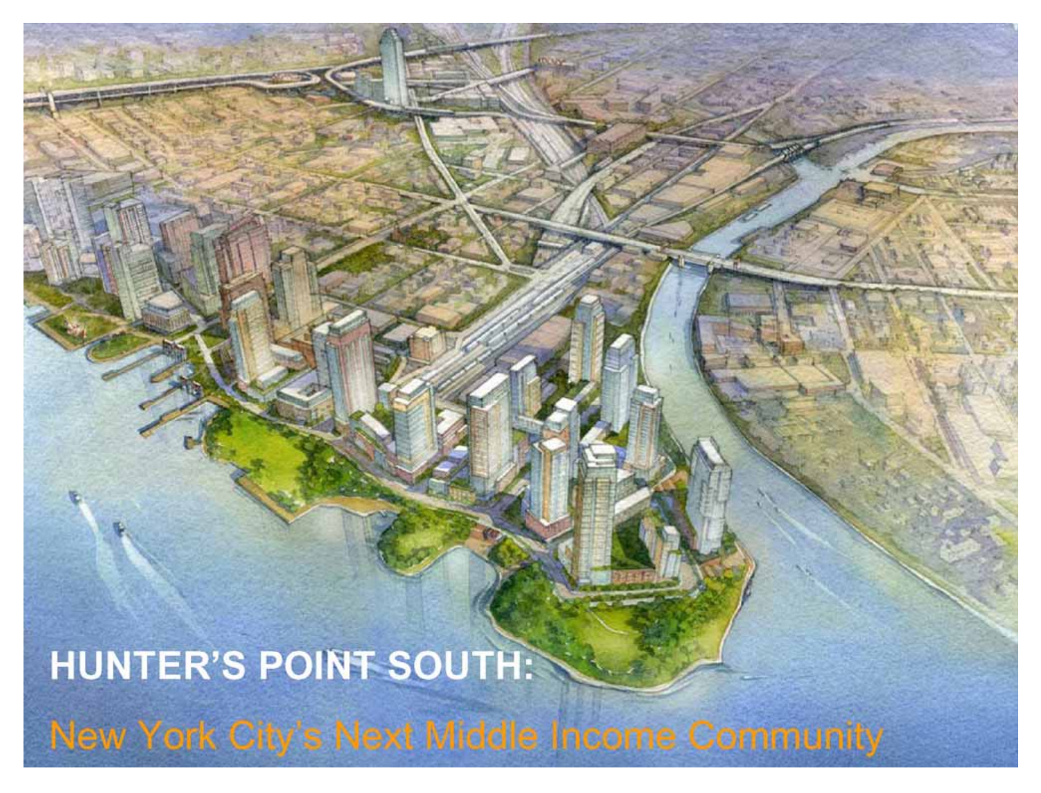 Hunters Point South Development
