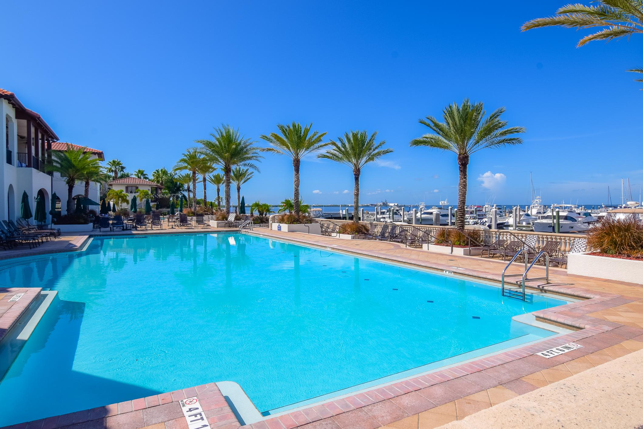 Bay Club Pool and Marina