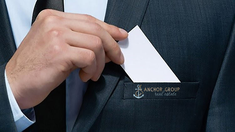 Anchor Group Real Estate Business Card