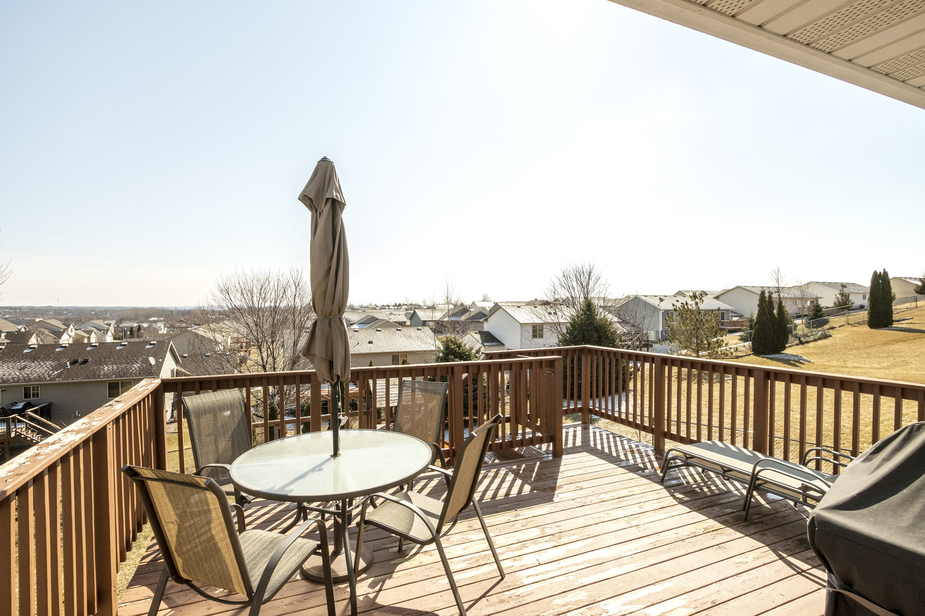 Deck View 5330 Kingston Pl NW Rochester