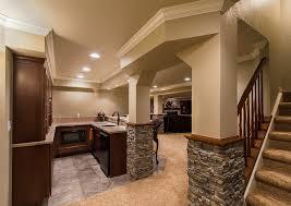 Finished basement Liberty Township