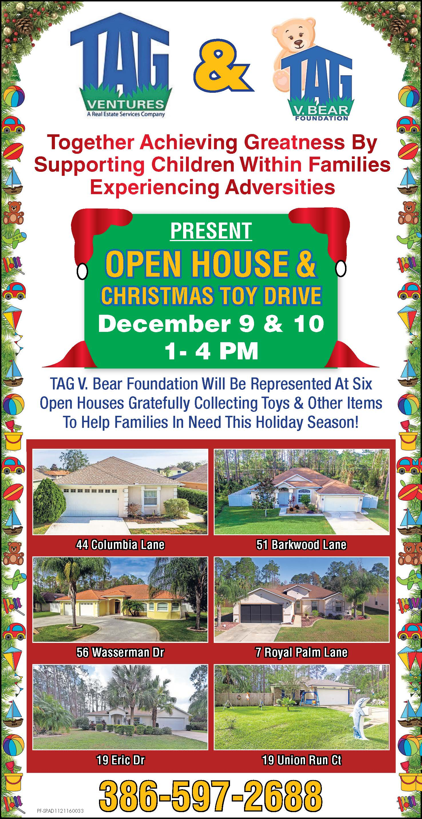 Open House Toy Drive 2017