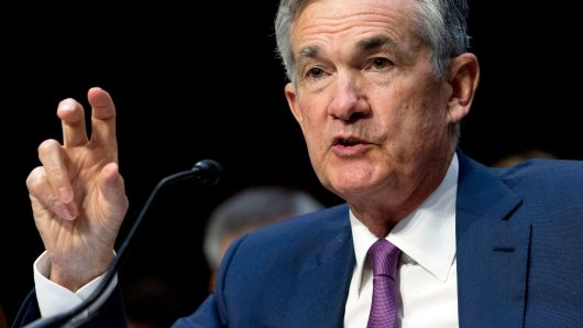Jose Luis Magana | AP Federal Reserve Board Chair Jerome Powell testifies before the Senate Committee on Banking, Housing, and Urban Affairs on 'The Semiannual Monetary Policy Report to the Congress, at Capitol Hill in Washington on Tuesday, July 17, 2018.