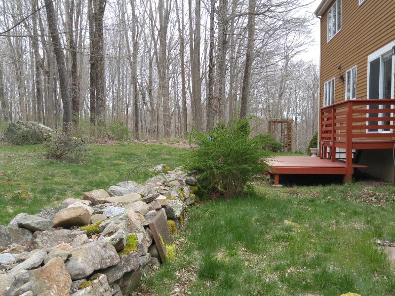 287 RT 2 N Stonington Backyard