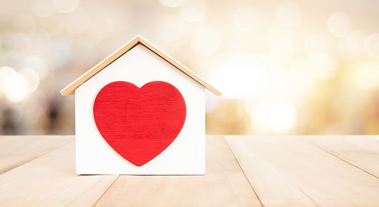 Home for Valentine