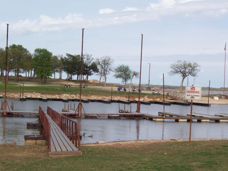 Cedar Point Boat dock area