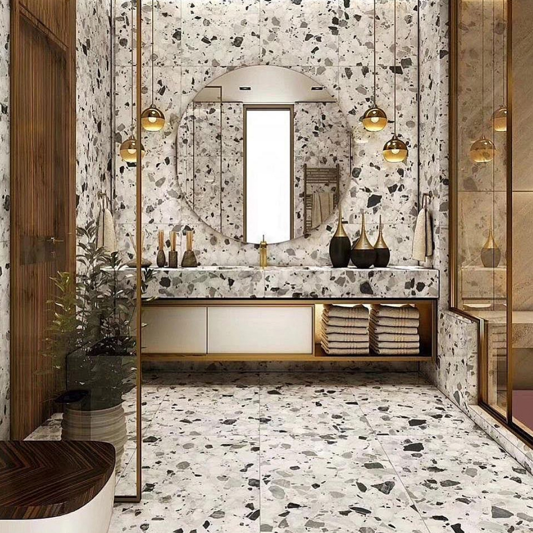 Wondering If The Terrazzo Tiles Trend Resurgence Might Make Its Way
