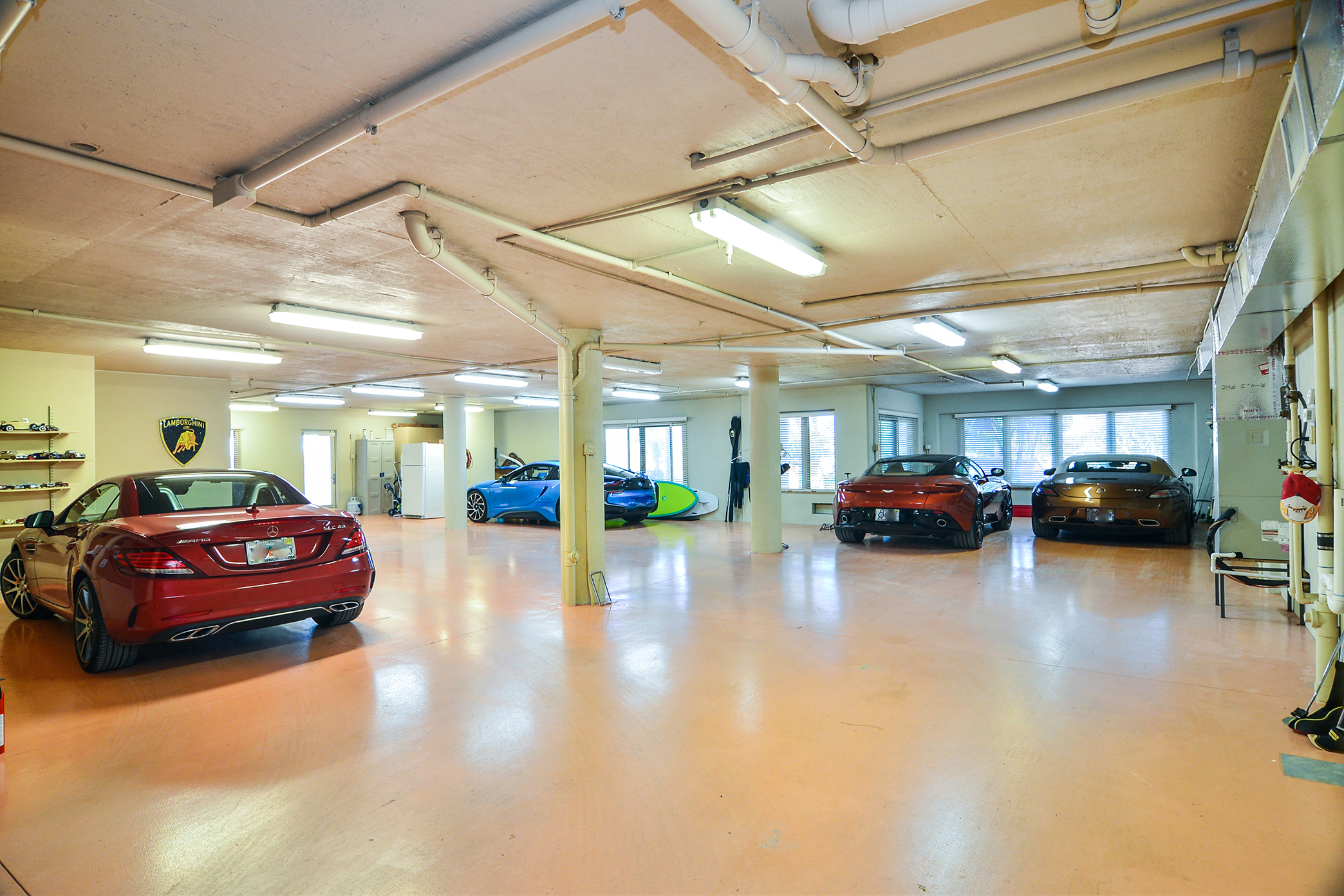 11-Car, Climate Controlled Garage