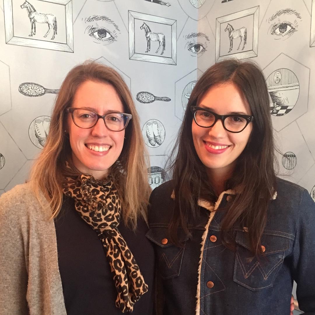 Kelly Diehl and Elizabeth Williams of New Hat, photo via Germantown Inn