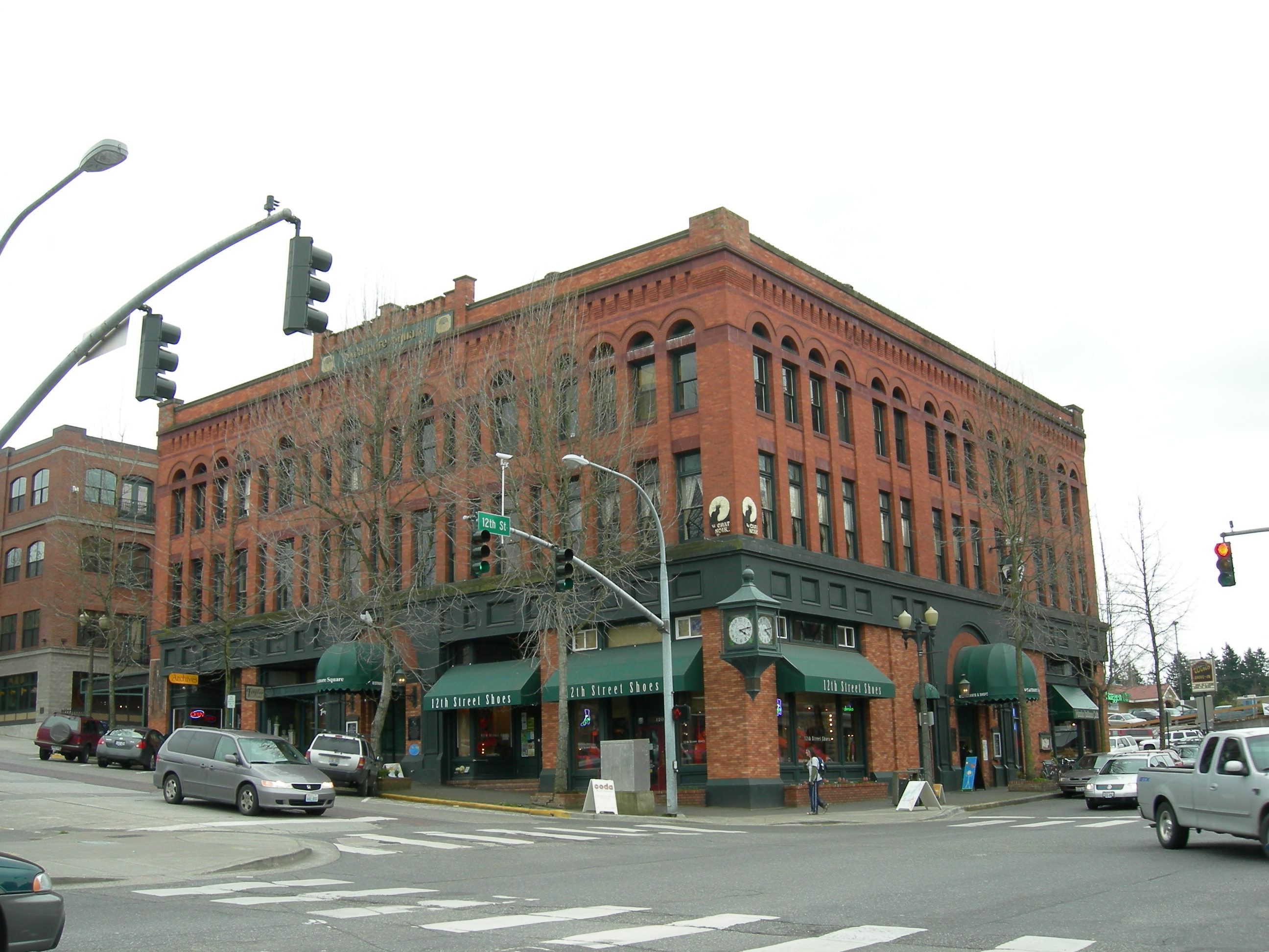 Sycamore Square Building Fairhaven Bellingham Washington Whatcom County