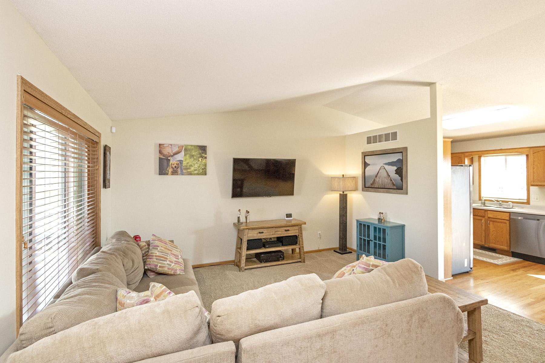 Living Room - 5330 Kingston Pl NW Rochester MN