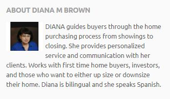 Diana Molina-Brown Bio