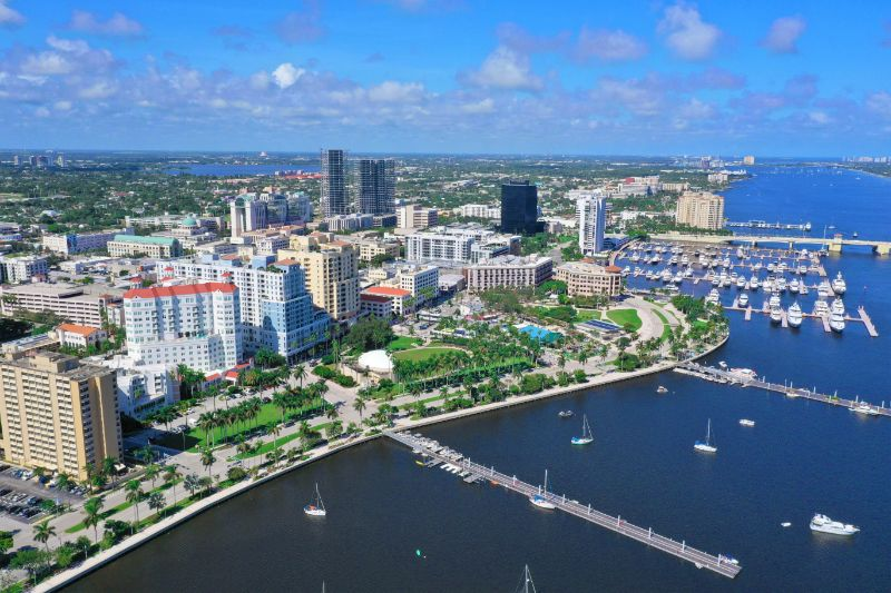 downtown west palm beach