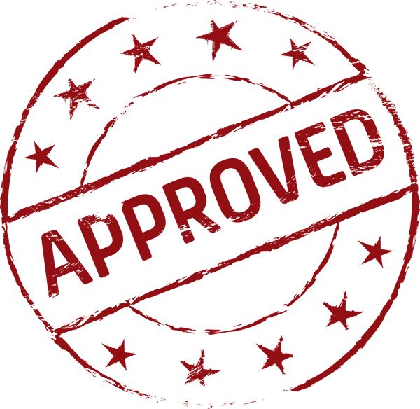 mortgage approval stamp