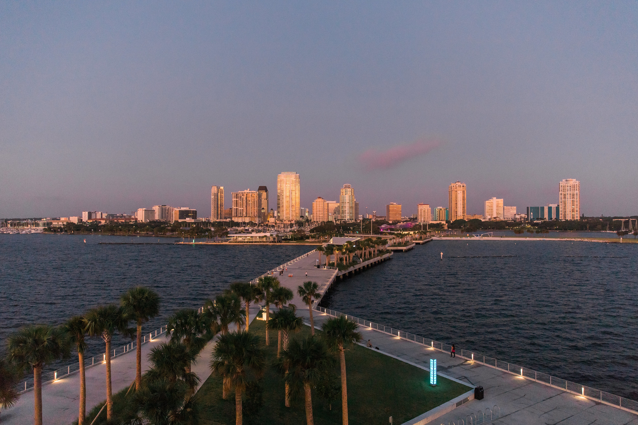 St. Pete Pier and Skyline