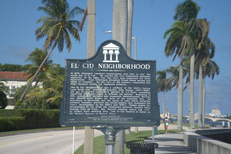 el cid history sign on post