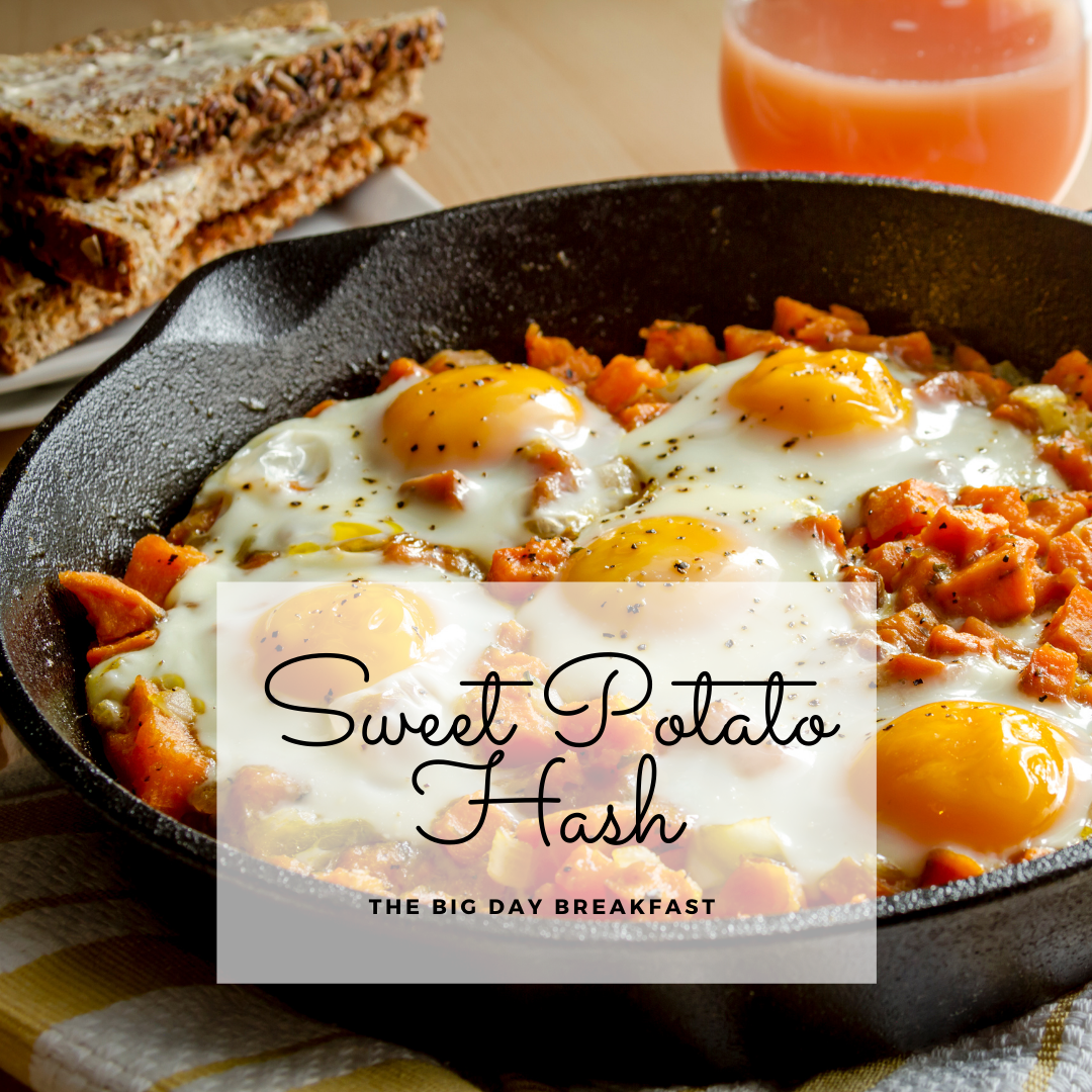 Sandy's Sweet Potato Hash