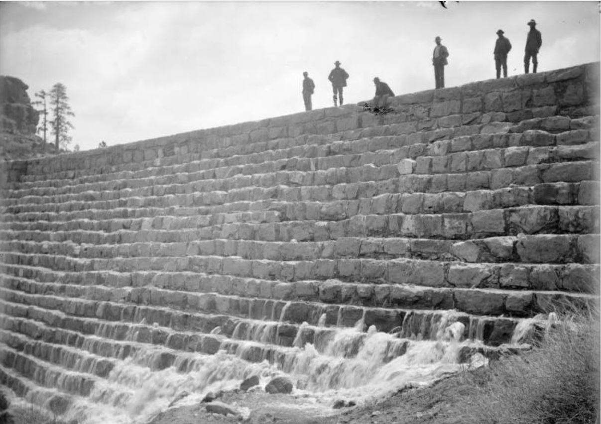 Castlewood Dam BEFORE