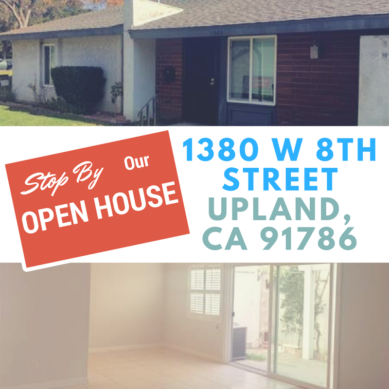 1380 W 8th Street Upland Condo Open House