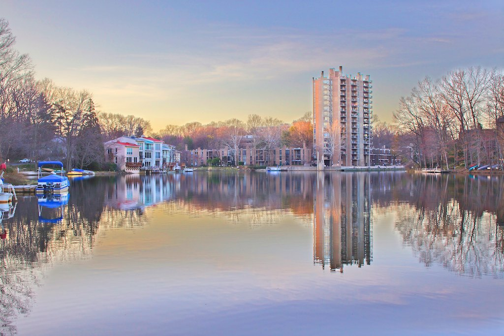 Lake Anne, Reston Virginia